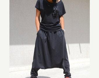 Mod Woman Workout Pants, Extravagant Oversize Pocket Pants, Winter Modern Comfy Pants, Pants for Fashion Lady Steampunk Fashion Trending Now