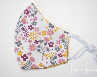 Reversible Washable Cotton Face Mask without nose wire, child size