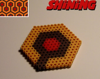 THE SHINING - Carpet Design (Perler Bead Coaster)