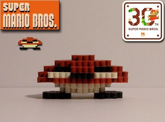 Super Mario Bros 3d Stampfte Goomba Pixel Perle Figur