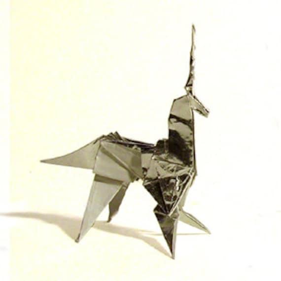 Blade Runner Origami Unicorn Pin: BLADE RUNNER Origami Unicorn Prop 1:1 Scale