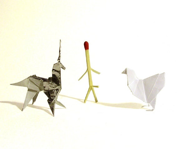 Blade Runner 11 Scale Origami Prop Set Chicken Etsy
