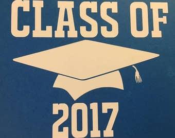Class Of 2018 Graduation Decals
