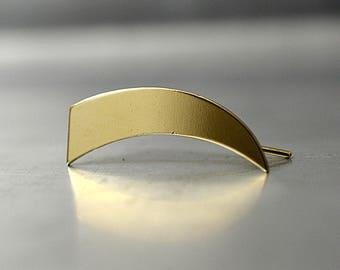 Gold ear cuff, gold ear crawler, Gold ear climber earrings, Modern Jewelry, gold stud earrings, ear pin earrings, minimalist earrings.