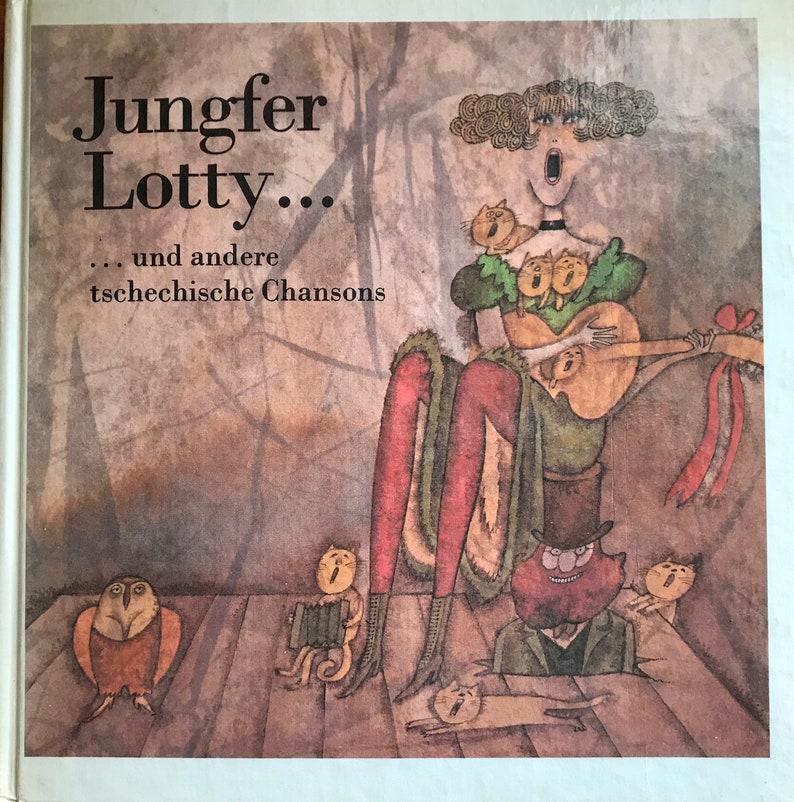 Tschechische Weihnachtslieder.Jungfer Lotty Und Andere Tschechische Chansons Includes 7 Inch Single Mint Condition First Edition 1982