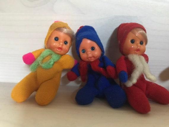 Beanie Babies Matchbox Mattel Set of 3 Vintage 1970s  049f33e5f2e3