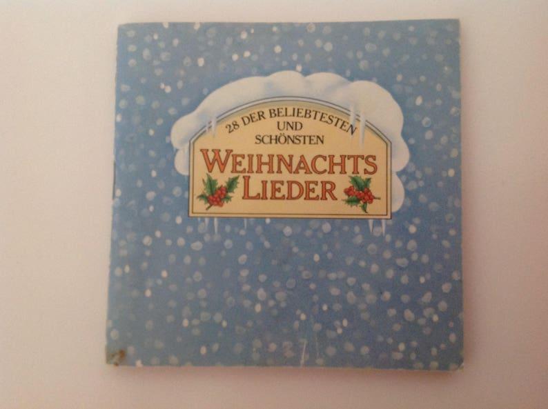 Disney Weihnachtslieder.German Pixi Style Book Weihnachtslieder Merchandising Margret Astor 1970s