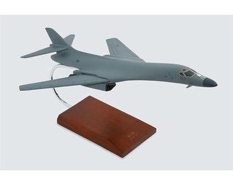 Rockwell B-1B  B-1 Lancer Bone Heavy Bomber Aviation Military Usaf 1980s NOS Vintage Belt Buckle