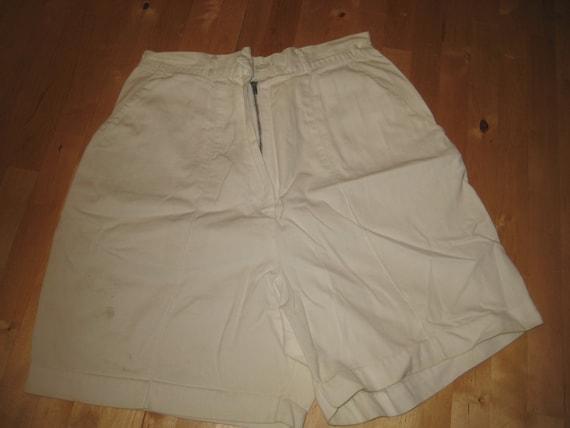 1950s Lady Shorts /off white