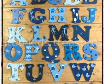 Painted Letters Etsy