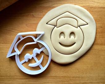 Graduation Cookie Cutter Emoji