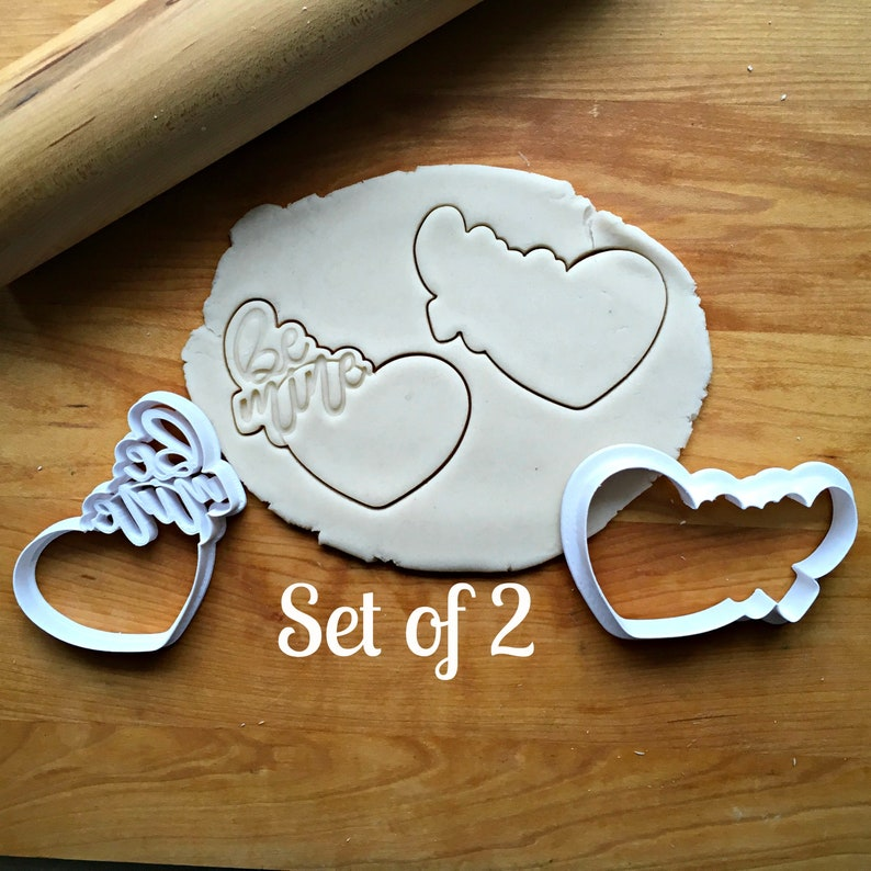 Be Mine Heart Frame Cookie CuttersMulti-Size