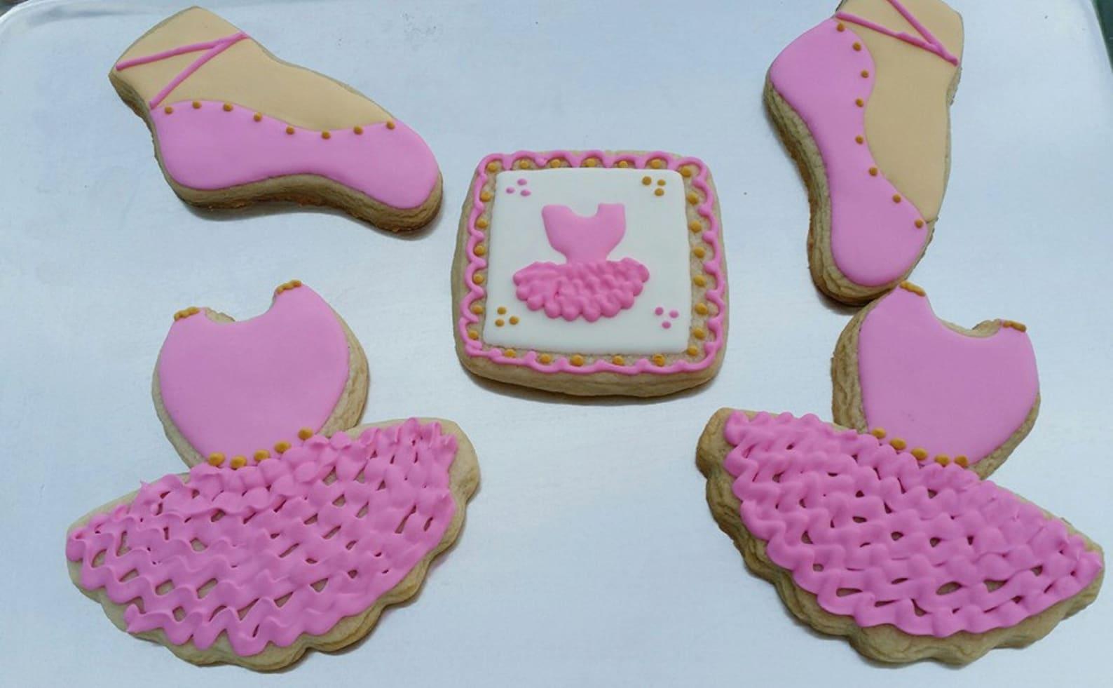 ballet slipper cookie cutter/multi-size