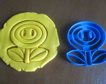 Fire Flower Cookie Cutter