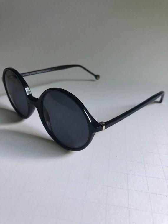 Vintage Round Retro Sunglasses - image 7