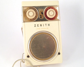 Zenith Radio Etsy. 1950s Zenith Royal 500 Deluxe Long Distance Tubeless All Tr Tor Radio Vintage Portable Decor. Wiring. Zenith Radio Schematic 7h920 At Scoala.co