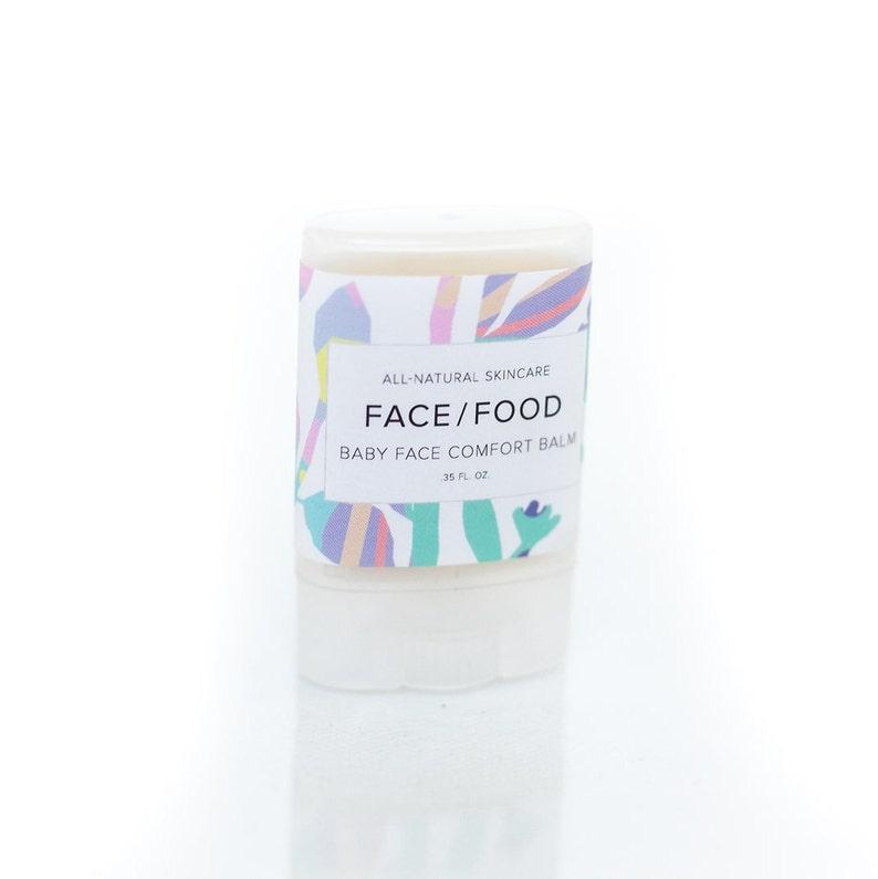 Baby Face Comfort Balm VEGAN Lip For Babies Kids All Natural Healing Salve Chamomile Calendula Coconut Oil