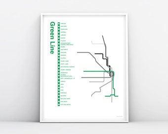 Cta green line   Etsy on map of chicago university, map of chicago downtown, map of chicago airport, map of chicago symphony, map of chicago chinatown, map of chicago trolley, map of chicago redline, map of chicago transit, map of chicago metra, map of chicago city center, map of chicago cta, map of chicago union station, map of chicago google, map of chicago bus, map of chicago state street, map of chicago waterfront, map of chicago metro, map of chicago amtrak, map of chicago train,