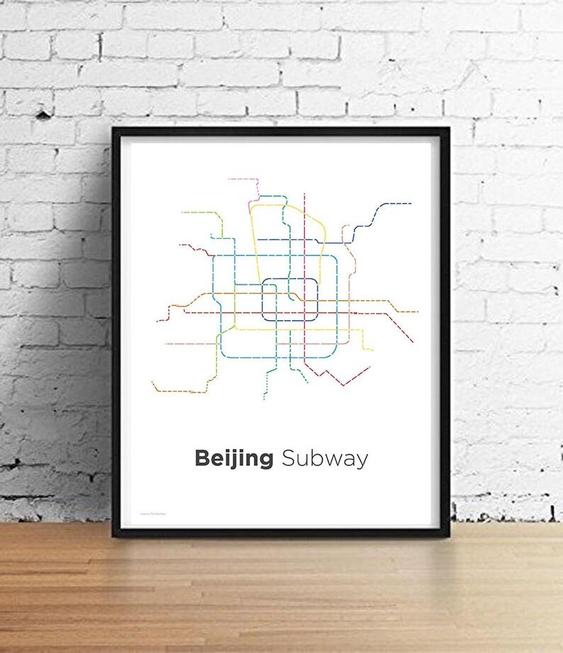 Seoul Subway Map Vector.Beijing Subway Map Thiscitymaps
