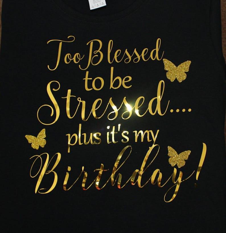 Verjaardag T Shirt Gezegend Verjaardag Shirt Christian Etsy
