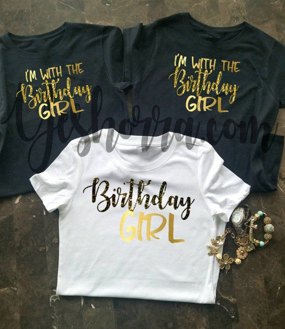 Birthday Group Shirts Party Shirt