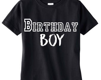 Birthday Boy Shirt, Boy's Birthday Shirt, Birthday Boy Shirt, Birthday King, Birthday Party, Birthday Outfit