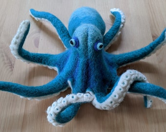 How to Needle Felt an Octopus Tutorial Instant Download PDF