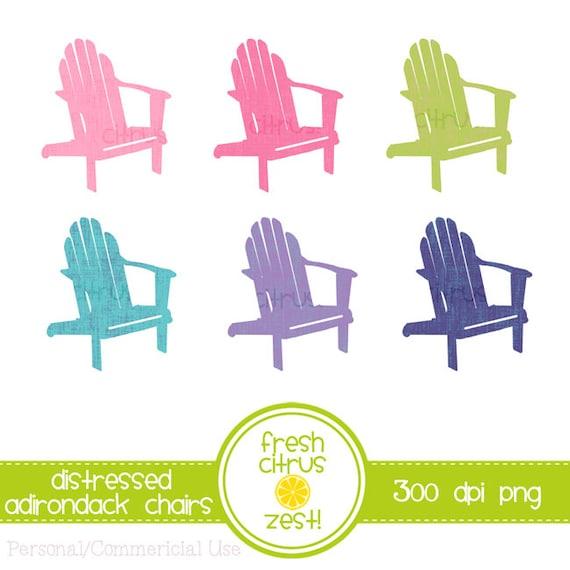 Adirondack Chairs Clip Art