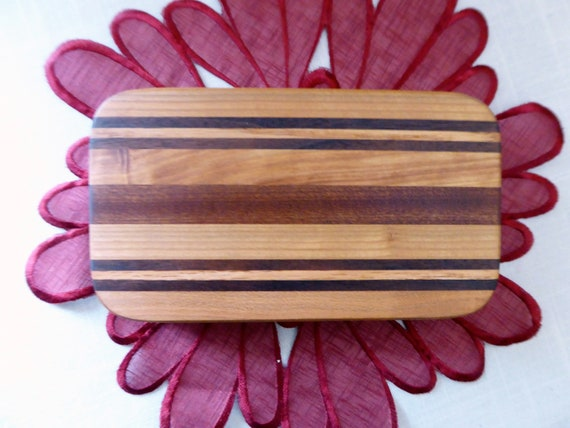 Recessed Handles Hard Wood Cutting BoardWine Cheese Serving TrayThick Chopping BoardWedding Chef giftFree bottle wood conditioner