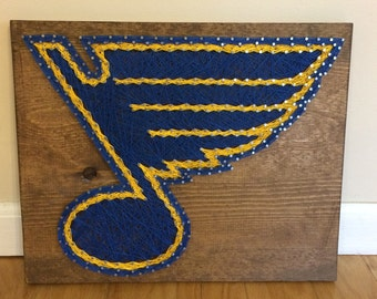St. Louis Blues String Art