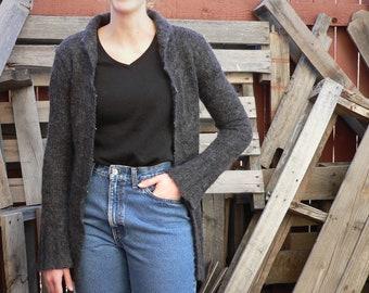 f55b1bb69887c Vintage Late 90s Free People Soft Cardigan Sweater (Size Medium)