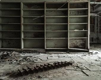 Abandoned Asylum, Decayed, Forgotten, Abandoned Building, Modern Home, Office Decor, Rural, Haunted, Urban Exploration, Loft Decor, Home