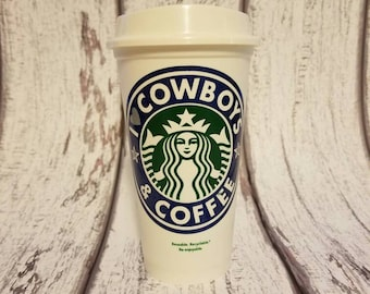 Dallas Cowboys,I <3 COWBOYS & COFFEE, Dallas Cowboys, STarbucks