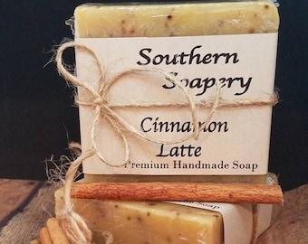 Cinnamon Latte Soap * Coffee Soap