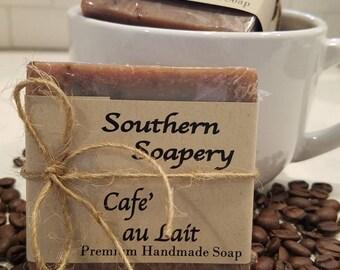 Cafe' au Lait Soap * Coffee Soap