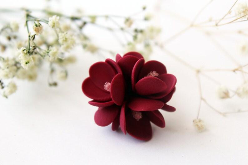 ideales Geschenk sch/öne Dekoraton Kerzenhalter mit Blumenring