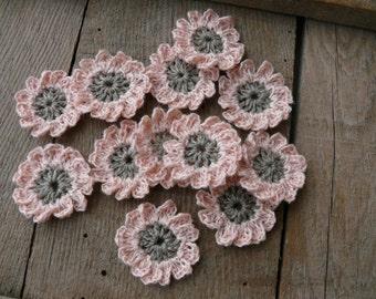 ähnliche Artikel Wie 15 Blume Häkeln Häkeln Mini Blumen