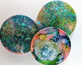 Color Burst Coasters