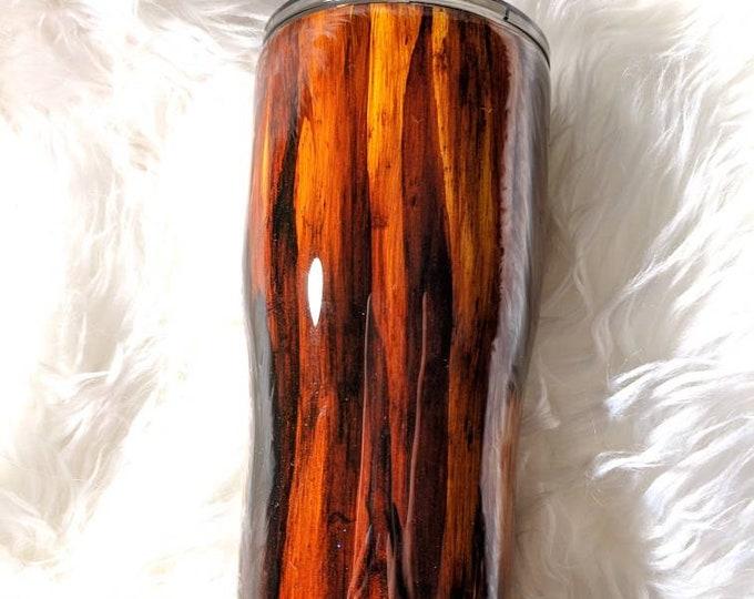Wood Grain Tumbler