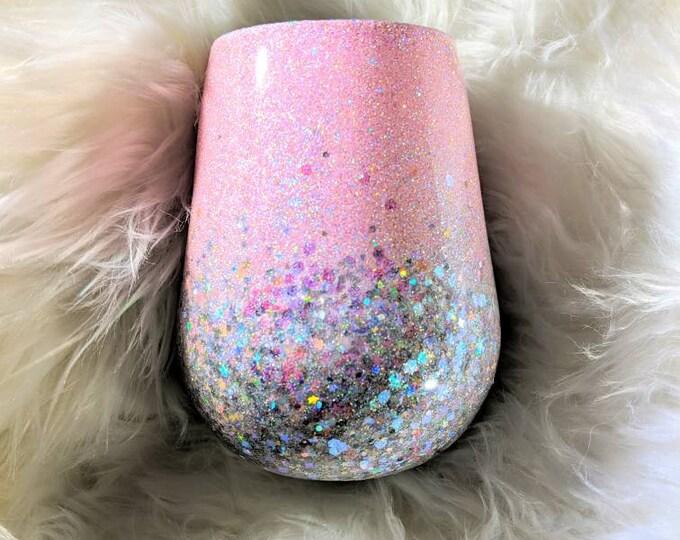 Ombre Glitter Tumbler