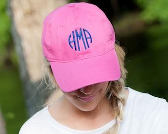 9c976e7c9 Pink baseball cap | Etsy