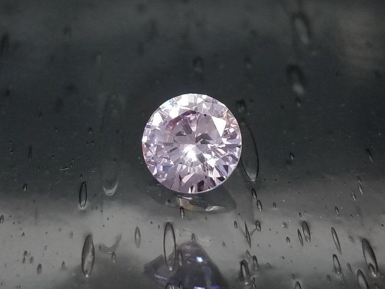 Rose Leaf CZ Flower Ring Sterling Silver Several Colors Size 4 5 6 7 8 Delicate Petite Cubic Zirconia Black Emerald Orange Lavender Pink Etc