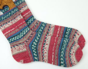hand knitted socks, wool socks,  socks, warm winter socks, happy socks, men socks, women socks, warm socks, UK 7,5-8 US 9-9,5