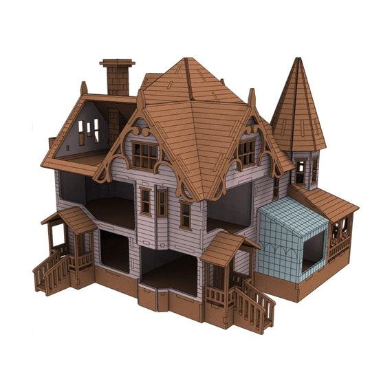Pink Palace Coraline Dollhouse Kit Pink Palace Gothic Etsy
