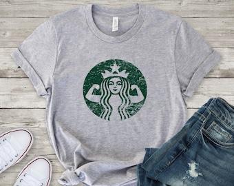 65037f2da Starbucks Shirt - Starbuff Shirt - Coffee Shirt - Unisex Shirt