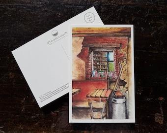 Toronto Postcard - The Céilí Cottage - Irish Local Pub in Leslieville