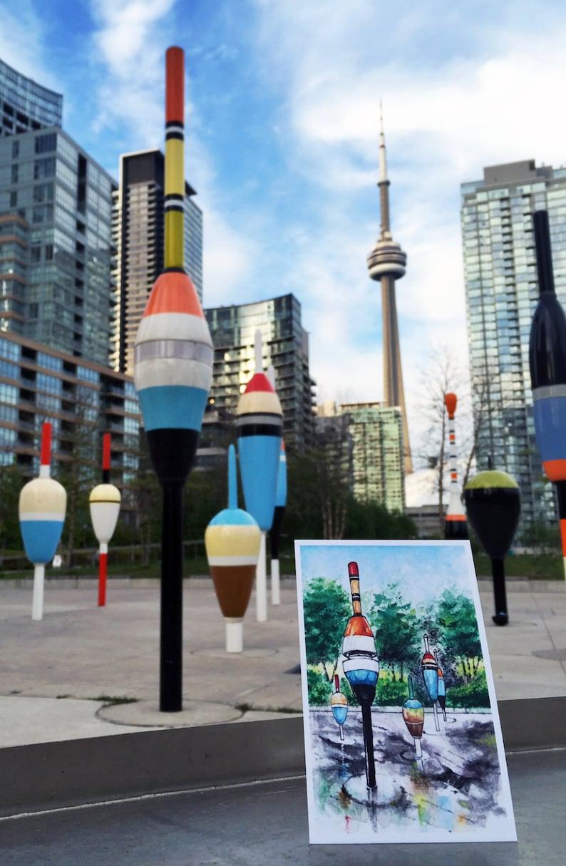 Toronto Postcard / Toronto Art / Toronto Themed Postcards / image 0