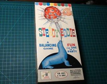 Steady Eddie Game Milton Bradley Vintage