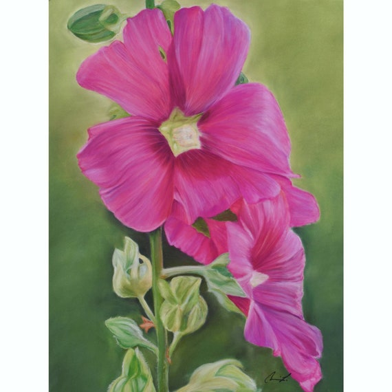 Roses of Provence - Original Pastel Painting