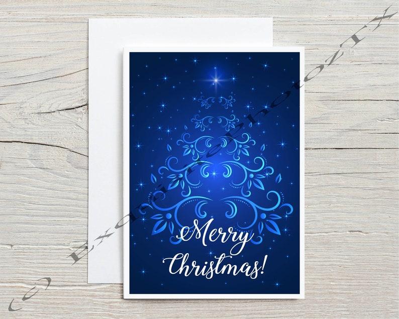 A7 Christmas cards image 3
